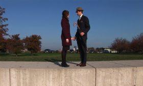 Film Still — David Kovac and Jana Liles