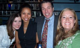 Wrap Party — Miranda Herbert, Diane Howard, Darren Stephens, Rachel Clapp