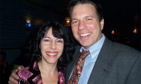 Wrap Party — Darren Stephens and Ruth Kaufman