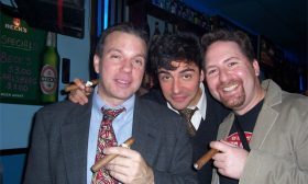 Wrap Party — Darren, David, and Chris