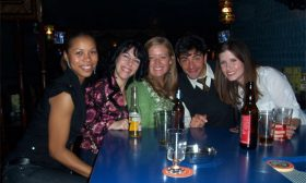 Wrap Party — David and the ladies